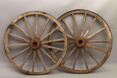 Wheels such as Jake would have been asked to build