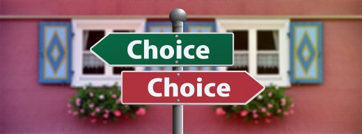 The choices you make count, and the right ones aren't always easy. You can keep going the way you are, or choose another way.  It's all up to you.