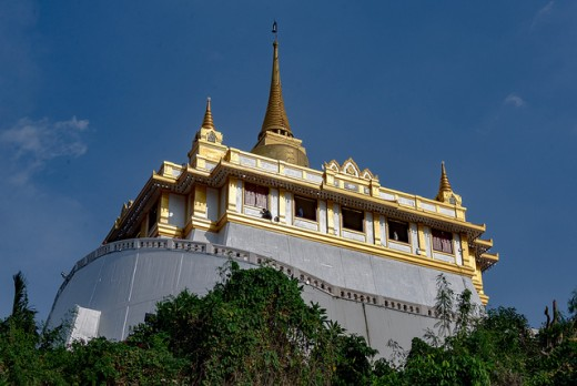 The Golden Mount aka Wat Saket in Bangkok Thailand