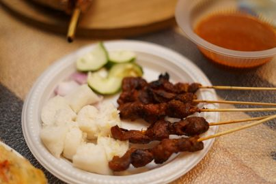 Chicken and Lamb Satay