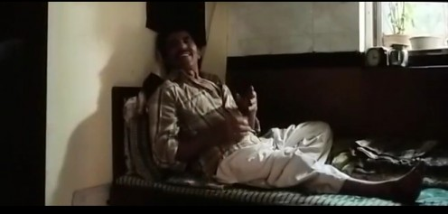 Sher's alcoholic father played by Ved Thappar(who I remember from a show back in the day called - 'Raja aur Rancho').