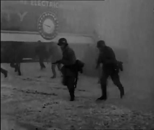 German Nazi Soldiers Invading Canada in World War 2