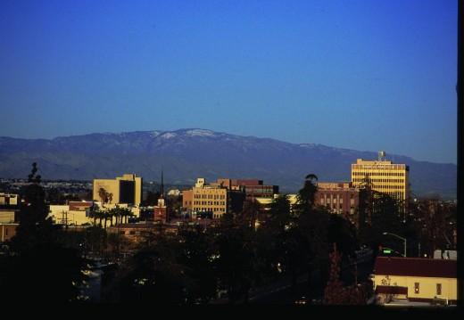 The Bakersfield Skyline