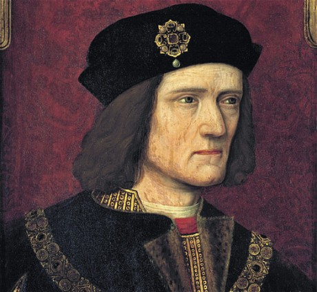 One of the few un-doctored portraits of Richard III. His enemies exaggerated the slight spinal deformity that arose from a traumatic birth. He was nevertheless a respected leader and the last king to die in battle