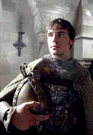 A youthful Robert - he waged war on his father over the dukedom of Normandy and unseated him from his horse. He would have unknowingly killed his father had William not raised his helmet to show he yielded