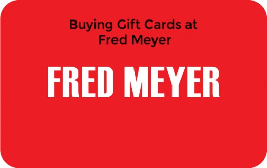 Buying Gift Cards at Fred Meyer | Holidappy