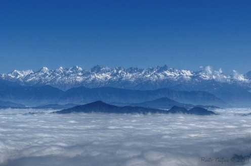 The Himalayas are considered young mountains as they were formed only a few million years ago
