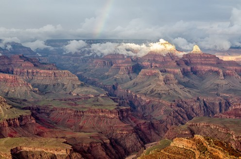 The Grand Canyon in Arizona, USA, is probably the most famous example of its kind in the world
