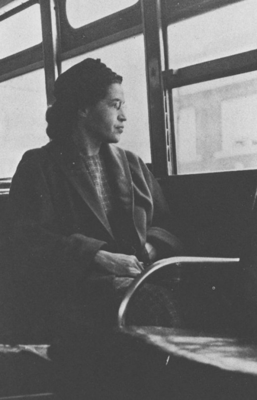 This famous photograph was taken on December 21, 1956, a day after the U.S. Supreme Court ruled Montgomery's segregated bus system illegal.