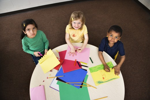 Allow your students to help decorate the classroom whenever possible!