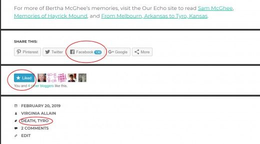 Add tags to each post for surnames, locations, years, other topics (like death, immigration, marriages, etc.).