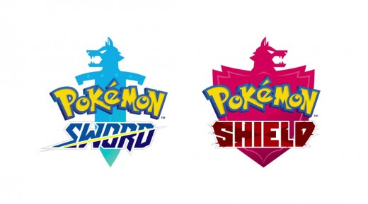 Official promotional logo for Pokemon Sword and Pokemon Shield