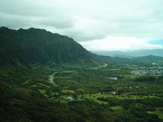 A Stunning Overlook in Hawaii