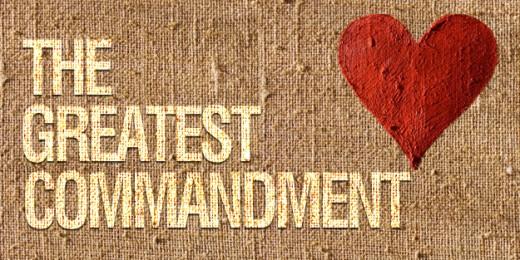Love the greatest commandment