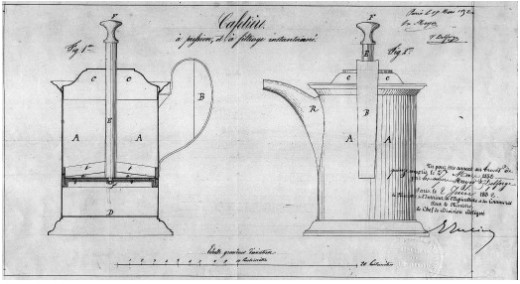 Mayer and Delforge's patent from 1852