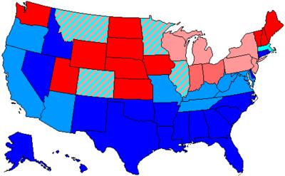 88th Congress of the United States. (1963-1965) Senate majority -Democrat, House majority - Democrat