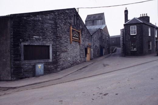The Pulteney Distellery in Wick, Scotland