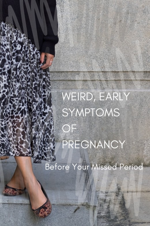 18 Weird Early Pregnancy Symptoms Before Your Missed Period | WeHaveKids