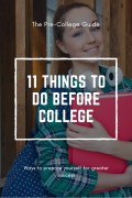 11 Things to Do Before College
