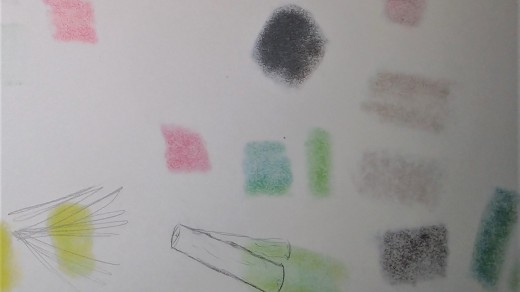 Alcohol markers in general tend to bleed through paper, so I recommend putting a scrap sheet of paper between your drawing and the table to keep from staining.