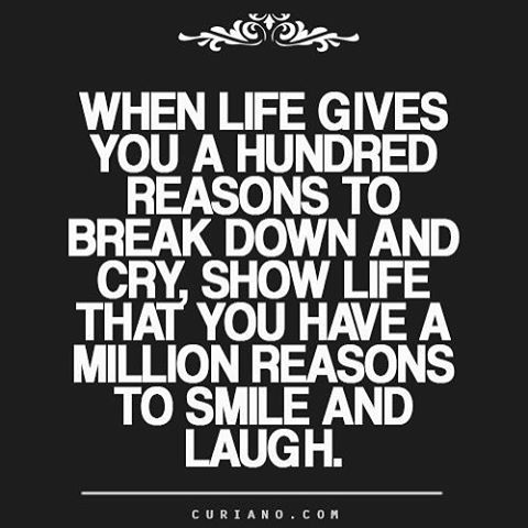 A quote about smile & laugh from curiano.com