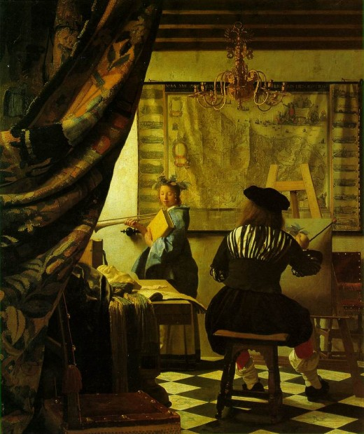 """The Art of Painting"", by Jan Vermeer"
