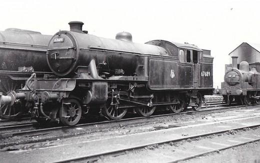 V3 67689 again, at home on shed at Gateshead