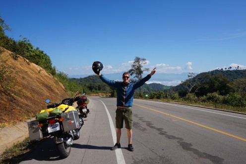 Celebrating Christmas Day on the Mae Hong Son Loop