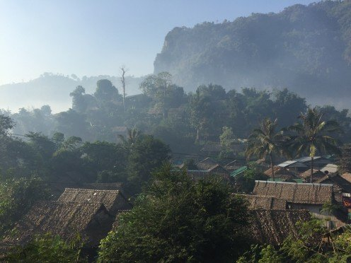A Remote Village in Northern Thailand