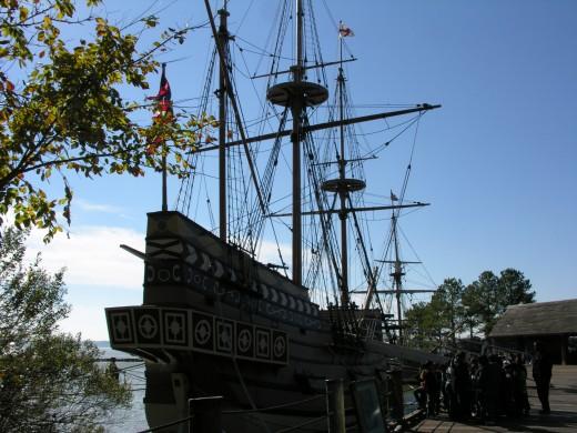 The replica of the Susan Constant, November 2014.