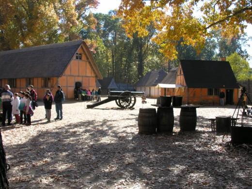 The Jamestown Settlement, November 2014.