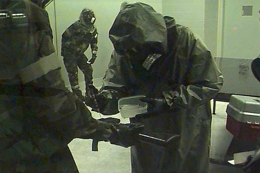 Weaponized nerve gas