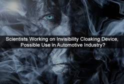 Scientists Working on Invisibility Cloaking Device, Possible Use in Automotive Industry?