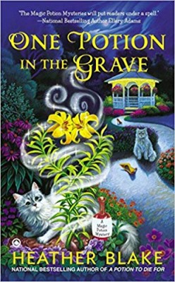 Book Review: One Potion in the Grave by Heather Blake