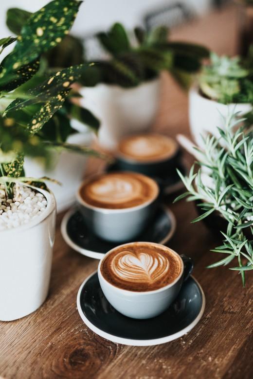 More coffee, more creativity.