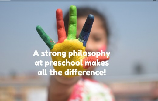 Whether it's Montessori, Waldorf, or  play-based cooperatives, parents should choose a preschool that stresses the importance of  creativity, curiosity, socialization, and hands-on learning.