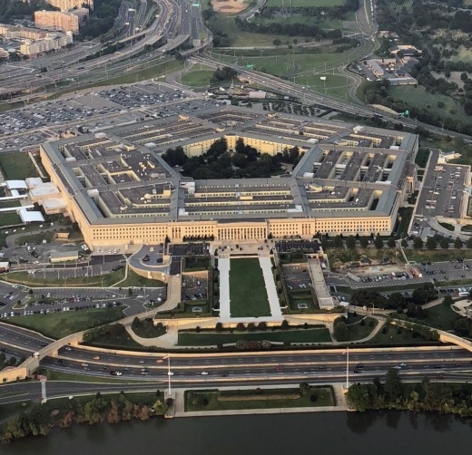 The Pentagon is an important government installation in the county.