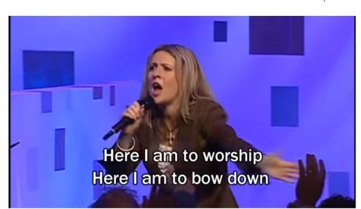 Worship is not praise