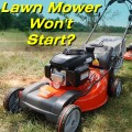 How to Fix a Lawn Mower That Won't Start