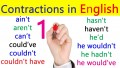 Hyper Reading and Speaking in the English Language PART 2: Contraction