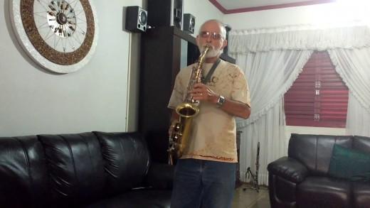 Musician Dad/Alto Sax