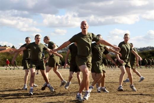 U.S. Marine Corps Dad...PT Instructor