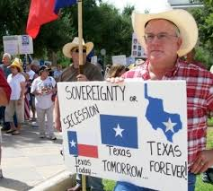 Texas gets serious about seceding.
