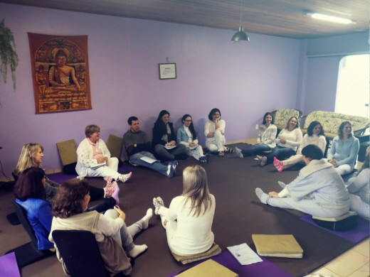 Reiki can be studied in groups with a reiki master.