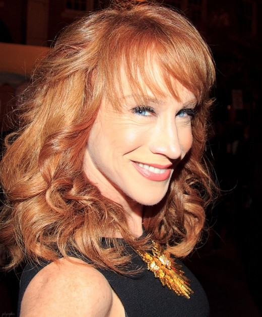 Kathy Griffin is a natural born redhead.
