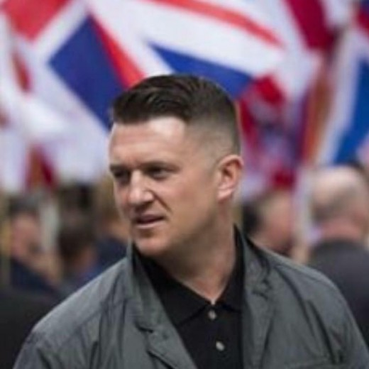 Tommy Robinson:  Opposed to Islamic immigration.