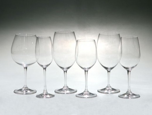 The classic Riedel wine glasses are still the world's standard.