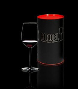 Riedel wine glasses' Sommeliers Black Tie may be the world's best glass.