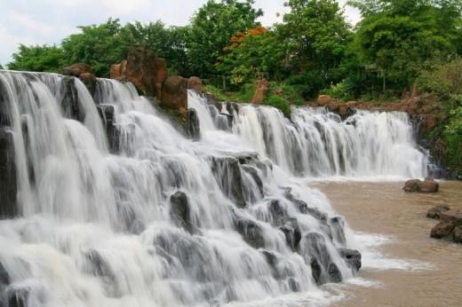 Giang Dien poetic waterfall