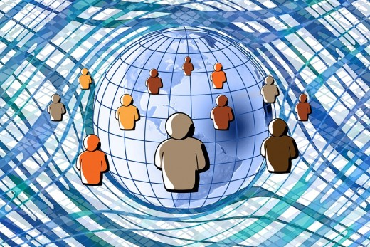 Connections through social media
